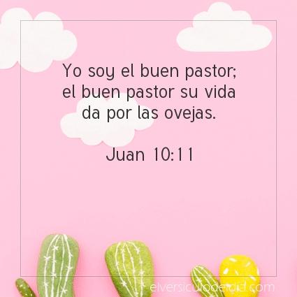Imagen El versiculo del dia Juan 10:11