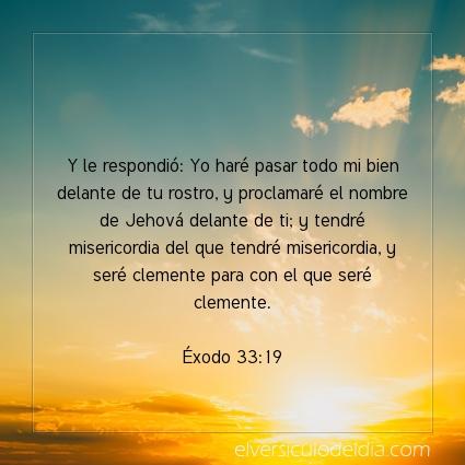Imagen El versiculo del dia Éxodo 33:19