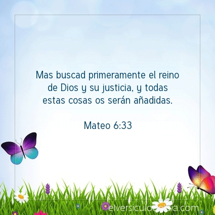 Imagen El versiculo del dia Mateo 6:33