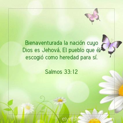 Imagen El versiculo del dia Salmos 33:12