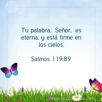 Imagen El versiculo del dia Salmos 119:89