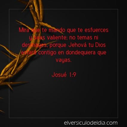 Imagen El versiculo del dia Josué 1:9