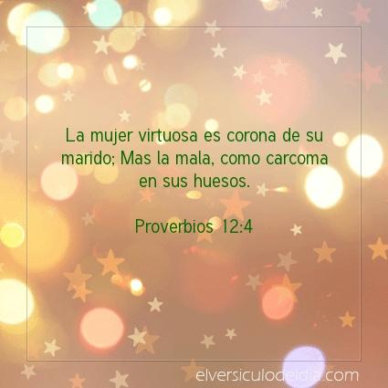 Imagen El versiculo del dia Proverbios 12:4