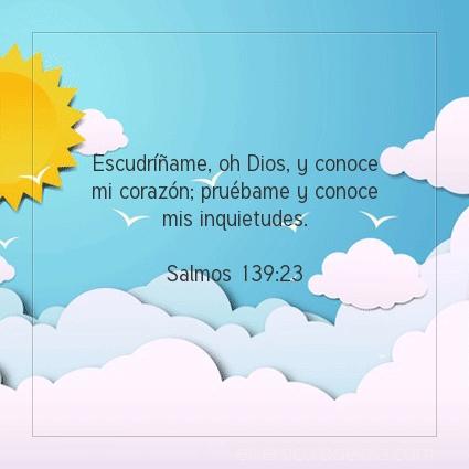 Imagen El versiculo del dia Salmos 139:23