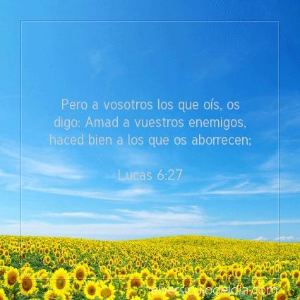 Imagen El versiculo del dia Lucas 6:27