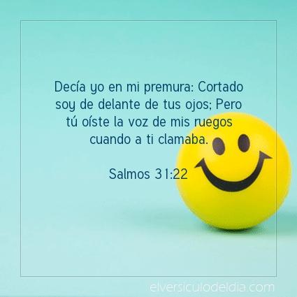 Imagen El versiculo del dia Salmos 31:22