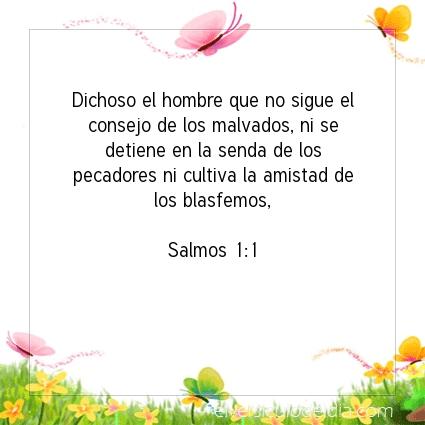 Imagen El versiculo del dia Salmos 1:1