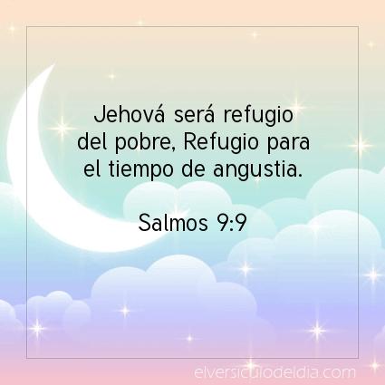 Imagen El versiculo del dia Salmos 9:9