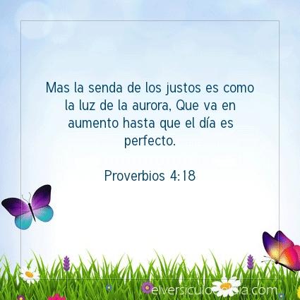 Imagen El versiculo del dia Proverbios 4:18