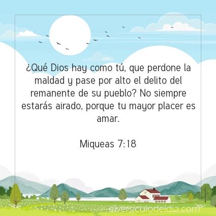 Imagen El versiculo del dia Miqueas 7:18