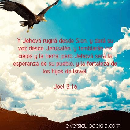 Imagen El versiculo del dia Joel 3:16