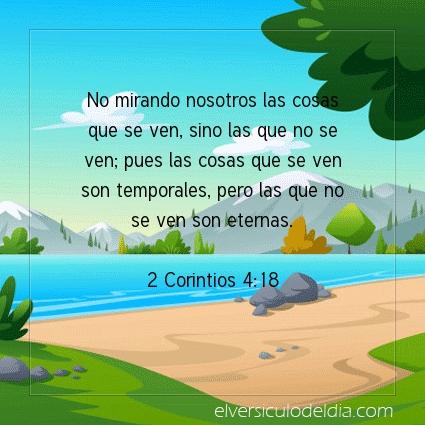 Imagen El versiculo del dia 2 Corintios 4:18