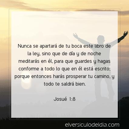 Imagen El versiculo del dia Josué 1:8