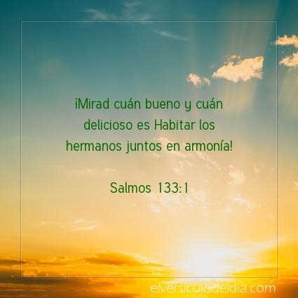 Imagen El versiculo del dia Salmos 133:1