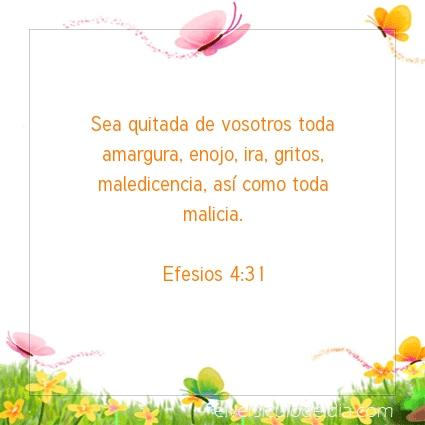 Imagen El versiculo del dia Efesios 4:31