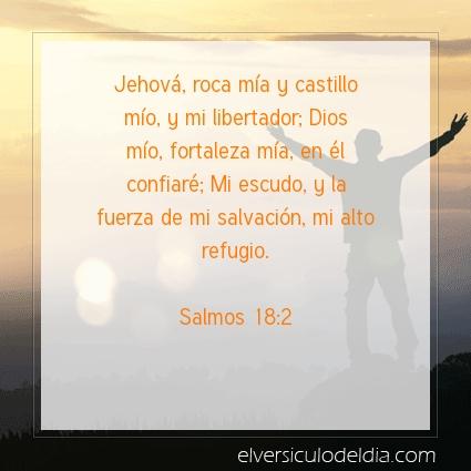 Imagen El versiculo del dia Salmos 18:2