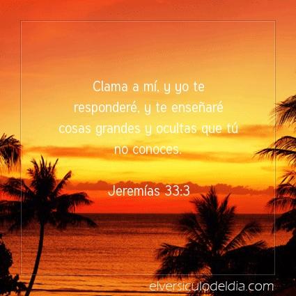 Imagen El versiculo del dia Jeremías 33:3