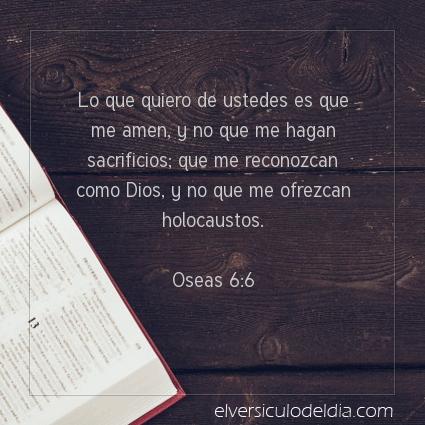 Imagen El versiculo del dia Oseas 6:6