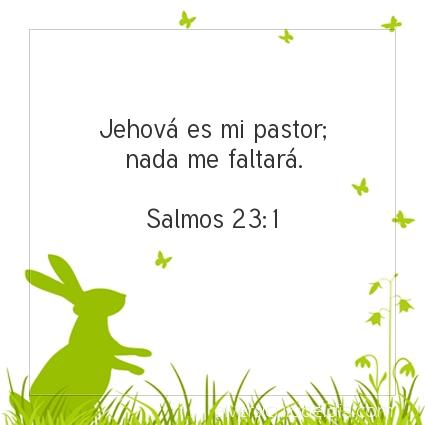 Imagen El versiculo del dia Salmos 23:1