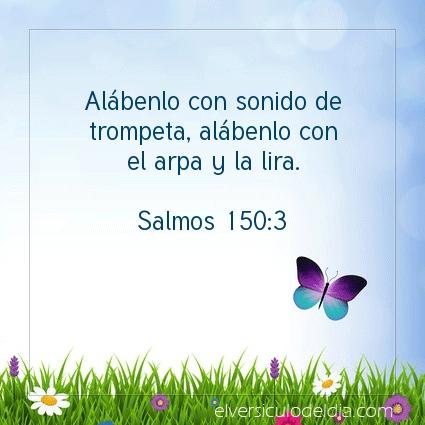Imagen El versiculo del dia Salmos 150:3