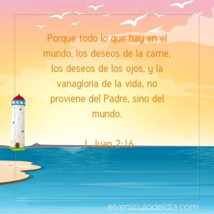 Imagen El versiculo del dia 1 Juan 2:16