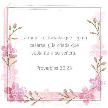 Imagen El versiculo del dia Proverbios 30:23