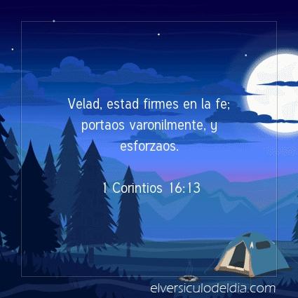 Imagen El versiculo del dia 1 Corintios 16:13