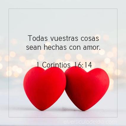 Imagen El versiculo del dia 1 Corintios 16:14