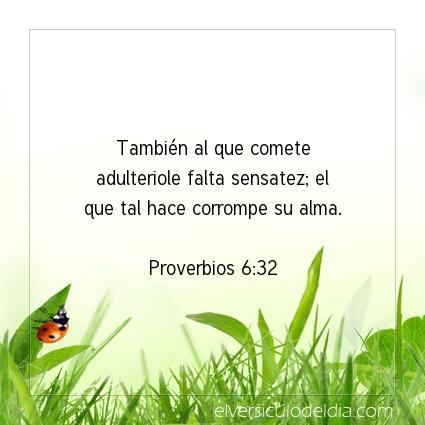 Imagen El versiculo del dia Proverbios 6:32