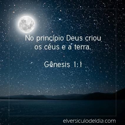 Imagem Verso do dia Gênesis 1:1