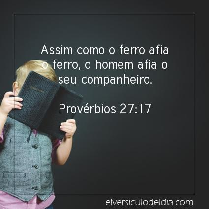 Imagem Verso do dia Provérbios 27:17