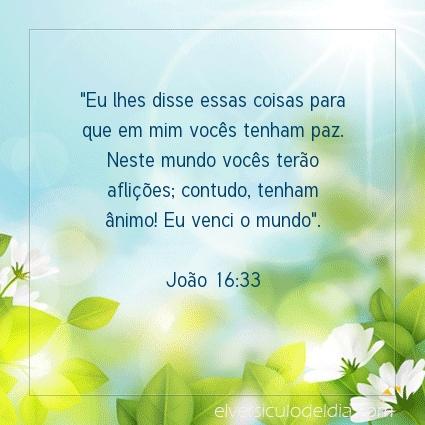 Imagem Verso do dia João 16:33