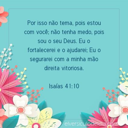 Imagem Verso do dia Isaías 41:10
