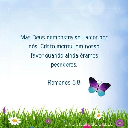 Imagem Verso do dia Romanos 5:8