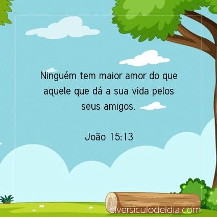 Imagem Verso do dia João 15:13