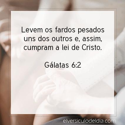Imagem Verso do dia Gálatas 6:2