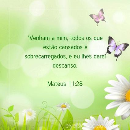 Imagem Verso do dia Mateus 11:28