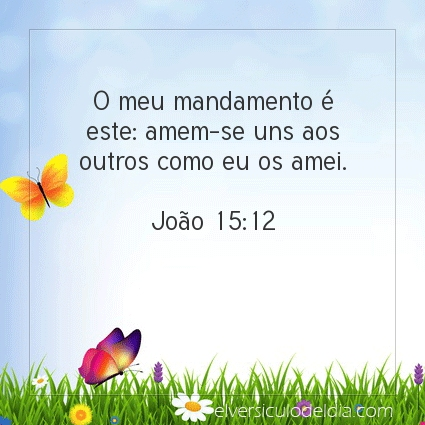 Imagem Verso do dia João 15:12