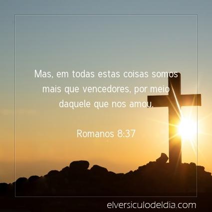 Imagem Verso do dia Romanos 8:37