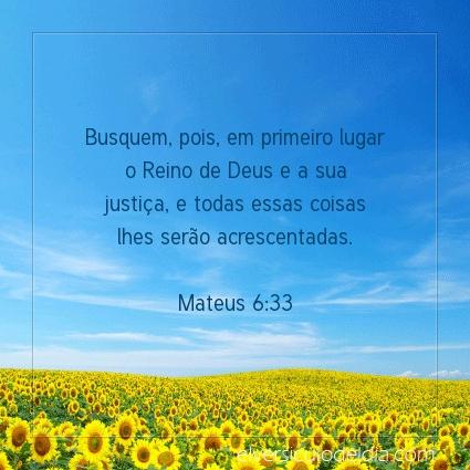 Imagem Verso do dia Mateus 6:33