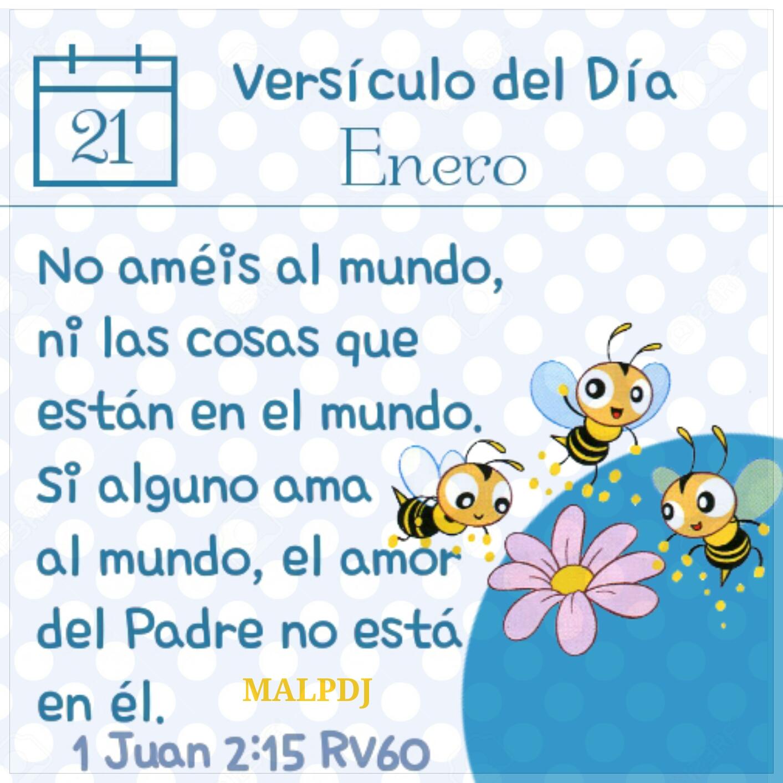 Versículo Del Día 1 Juan 2 15 Rv60