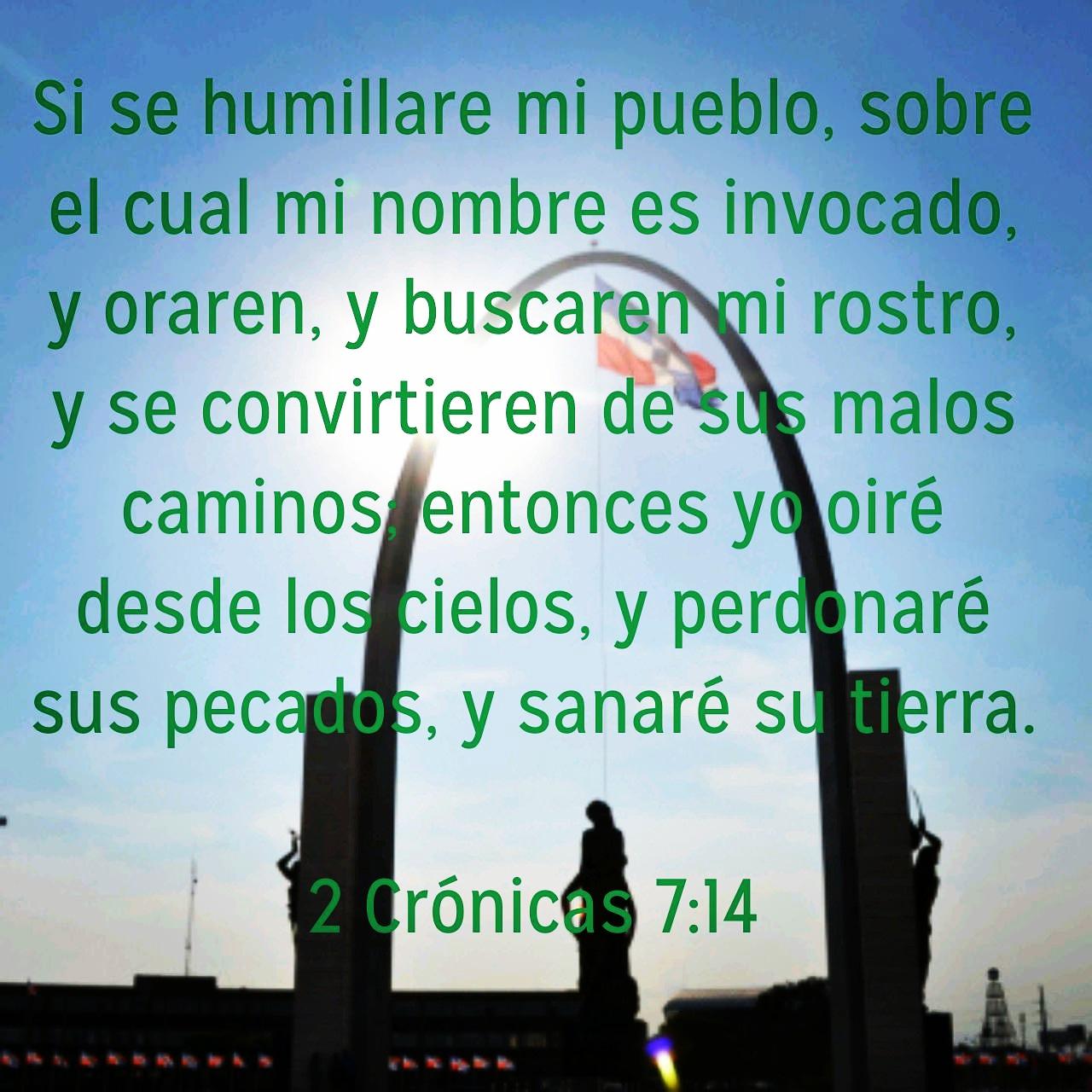 Versiculo Del Dia 2 Cronicas 7 14